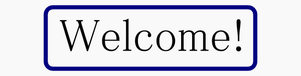 Welcome sign - click to enter.